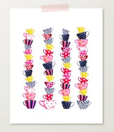 Image of teacups