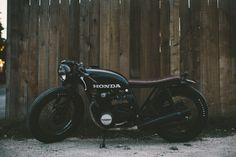 Honda Brat Style #motorcycles #motos #bratstyle | caferacerpasion.com