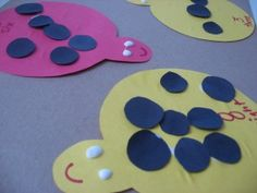 This ladybug math game is very DAP and fun for preschoolers.  They are very big participants in making the bugs and this will help them with their art skills and number recognition.  This is a very way to incorporate math into a bug theme.