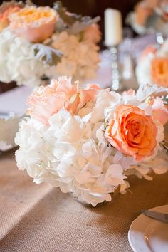 peaches and cream | Captured Photography #wedding