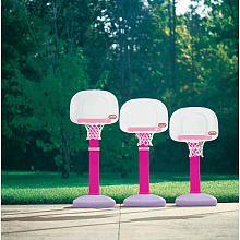 Pink Little Tykes Basketball Hoop!