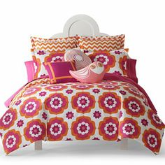 Happy Chic by Jonathan Adler Katie Duvet Cover Set & Accessories - jcpenney