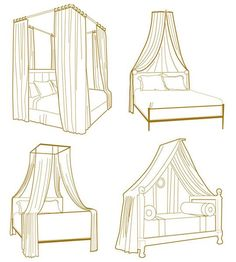 interior, little girls, bedroom decor, canopy beds, diets, bedrooms, furniture, bed canopies, bedroom designs