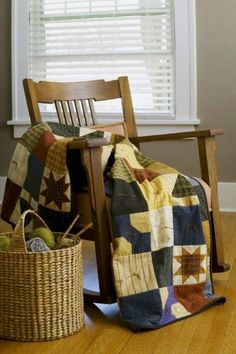 Flannel quilts are just the right weight to carry to an outdoor event or curl up with by the fireplace, making them the ultimate cover-ups for cool days!