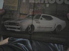 71 Custom Pegasus Mustang; not bad for a 71