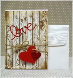 Love Card, Hardwood...Nikki Spencer-My Sandbox