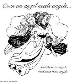 Angels needin' angels