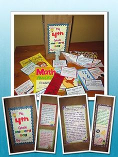 """Memory Bags - """"The Year is in the Bag"""" - An End of the Year Reflection Project $"""