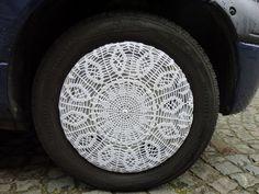 A crocheted wheel, by k-trien1 on Flickr.