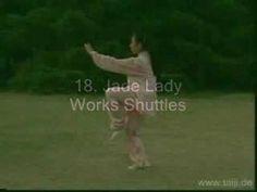 Yang style 24 movement