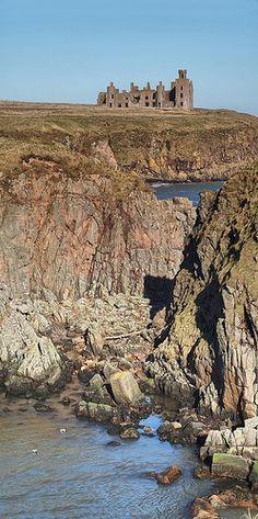 Slaines Castle Scotland - UK