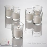 Good place to buy votive candles and holders for wedding!