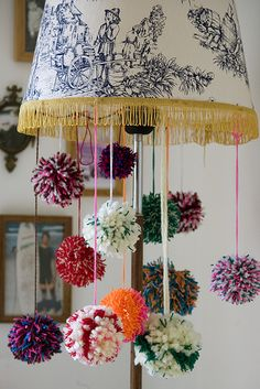 Pom Pom #Lighting #DIY