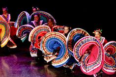 """Noche Folklorico"" I remember when I was little I had a dress like this, and I used to twirl around and pretend I could dance like this"