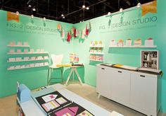 pop display, trade show booth ideas, nss, trade show booths, studio booth, color display, design studios, booth design