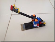 Two Lego Club Activities  - sit back to back and describe - make it move without touching