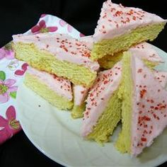"""Sugar Cookie Bars 