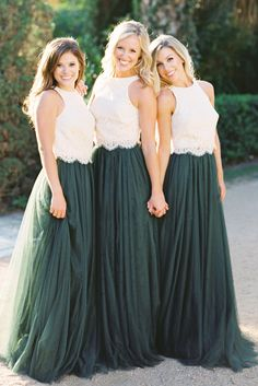 Tulle Bridesmaid ski