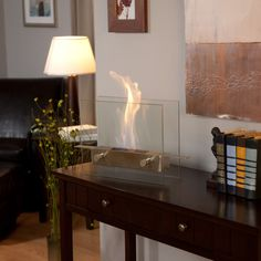 The Anywhere Fireplace Metropolitan is a fireplace that uses non-toxic and non-pollution bio-ethanol fuel. GetdatGadget.com