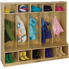 Costco: ECR4Kids – 5 Section Coat Locker with Bench