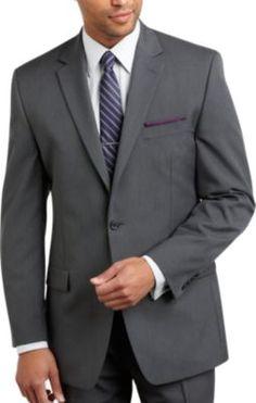 Michael Kors Gray Multistripe Suit   Men's Wearhouse