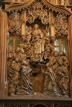 Tilman Riemanschneider, Marienaltar, Herrgottskirche, Creglingen, 1505-10