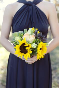 The perfect blooms for a ranch chic fete | Texas Ranch Wedding from Sarah Kate, Photographer + Elle Films  Read more - http://www.stylemepretty.com/texas-weddings/2013/10/09/texas-ranch-wedding-from-sarah-kate-photographer-elle-films/