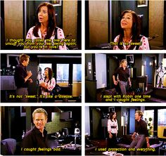 """Barney """"I Caught Feelings."""" How I Met Your Mother."""