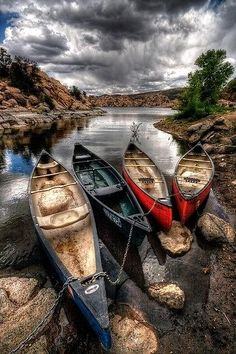 boats on the river - Pixdaus