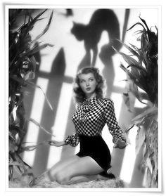 Vintage Hollywood Halloween Pin-ups