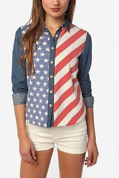 Patriotic Long Sleeve Shirt.