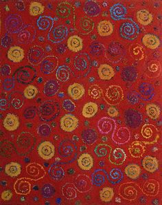 Laura Kenney Rugs: circles & swirls