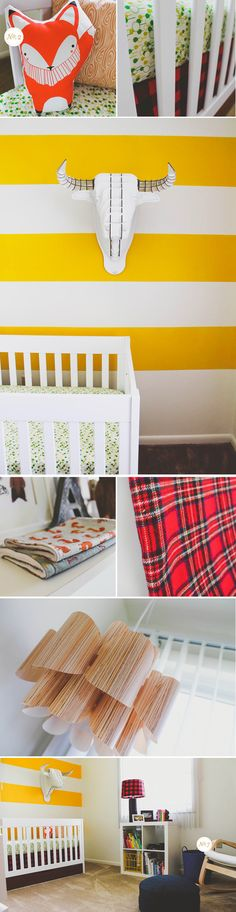 Lay Baby Lay: real nursery: asher's lumberjack nursery for SCOUT