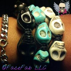 "@facefab's photo: ""Shop.FaceFab.com Skullz-o-Matica"""