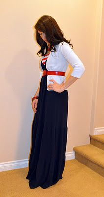Cute way to wear a maxi... because just maxis arent cute!