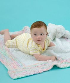 Learn how to knit a blanket just as darling as your little one with the Spun Sugar Baby Blanket. This free printable knit blanket pattern is knit entirely in the garter stitch making it the perfect pattern for knitting beginners.