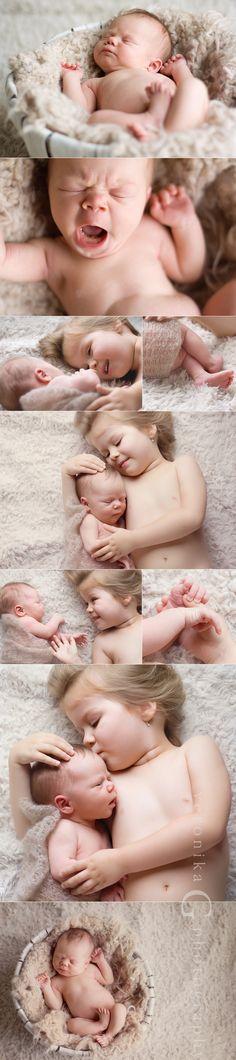 Newborn and toddler photos!