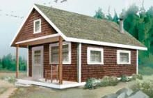 Build your own little cabin with the help of this step-by-step building guide from MotherEarthNews.com