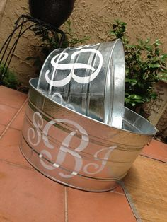 Like this but different. Old galvanized, black or red lettering. Times New Roman for a classic look. Big enough to put the Christmas tree in.