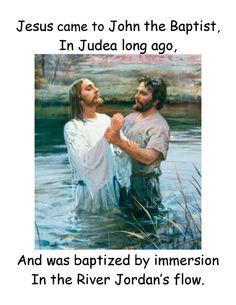 Baptism flip chart  http://www.jollyjenn.com/Baptism.pdf
