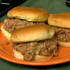 Sloppy Mike's - A twist on sloppy joes.