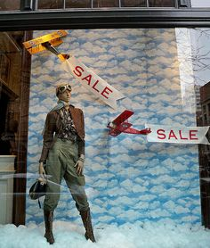 Store window at Ralph Lauren Rugby on University Place and 12th Street.