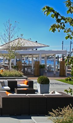 Newport's waterfront Forty 1° North sits exactly 41 degrees above the equator.