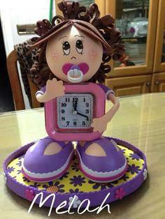 Fofucha reloj de bebé