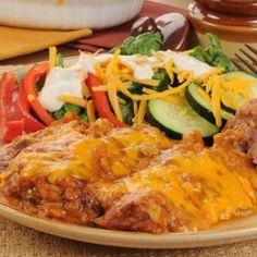 A delicious taco casserole recipe made with yummy ingredients.. Taco Casserole Recipe from Grandmothers Kitchen.