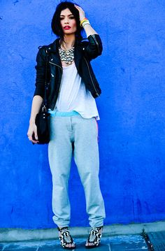 SPORT PANTS (by ANGELA ROZAS SAIZ) http://lookbook.nu/look/3369053-SPORT-PANTS