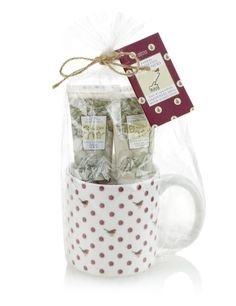 Floral Collection Gardeners Mug Gift Set