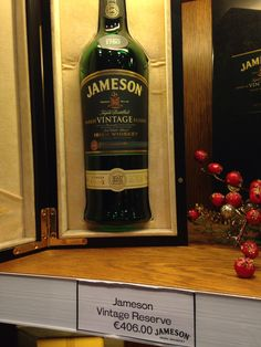 I begged for the students to get me this as a late Christmas gift while we toured the Jameson Distillery...I sadly left empty handed. It was only a little over $600. Guess I've been too mean! :-(