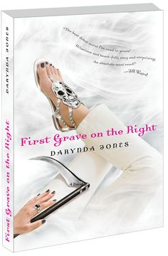First Grave On The Right by Darynda Jones. This is the first book in the series following part-time P.I. Charley Davidson, full-time Grim Reaper. Think of a Stephanie Plum/Lorelei Gilmore mix tossed into an episode of Supernatural. I'm through the first few books and the author seems to really be getting into the character now. The first couple books are a little choppy but very entertaining, and each book has been better than the one before.