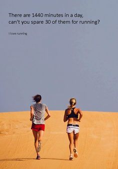 Running makes you better...
